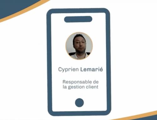 Interview de Cyprien Lemarié, Responsable de la gestion client