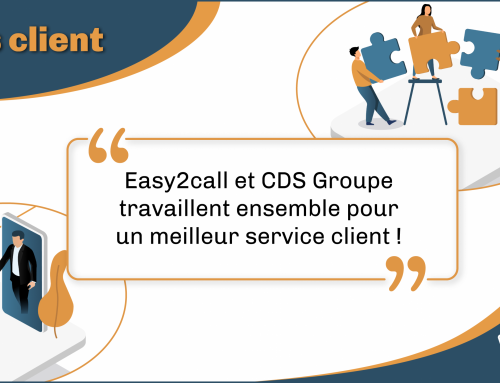Easy2call accompagne CDS Groupe
